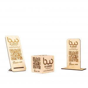 Qr code stand